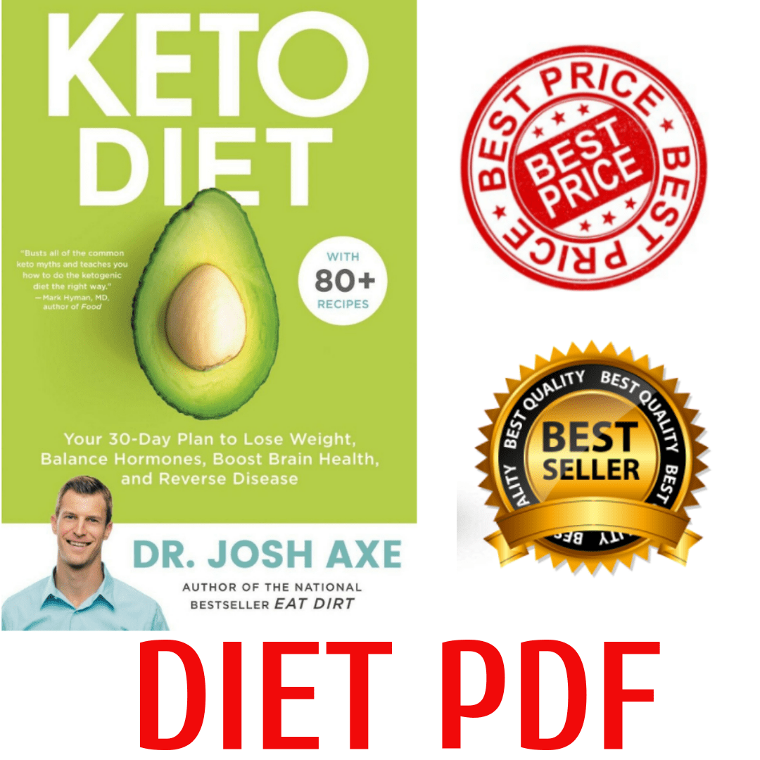 Keto Diet Your 30-Day Plan to Lose Weight by Dr Josh Axe eBook