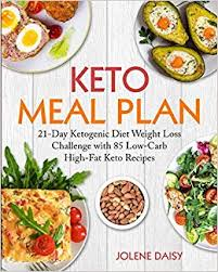 Keto Meal Plan 21 Day Ketogenic Diet eBook