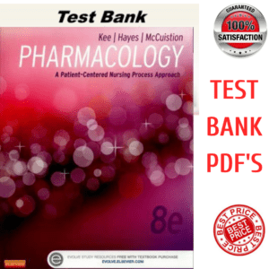 Pharmacology a Patient Centered Nursing Process Approach 8th Edition Test Bank Ebook
