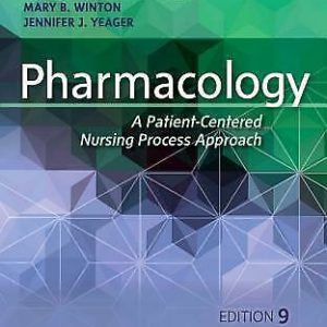 Pharmacology A Patient-Centered Nursing Process Approach 9th Edition Ebook