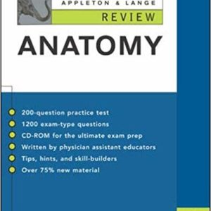 Appleton & Lange Review of Anatomy 6th Edition Ebook