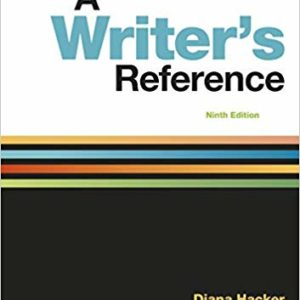 A Writer's Reference Ninth Edition Ebook