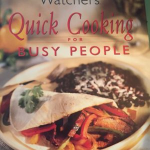 Weight Watchers quick cooking for busy people eBook