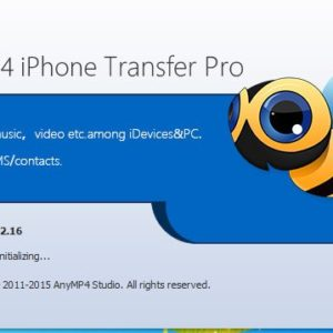 AnyMP4 iPhone Transfer Pro Software For Windows