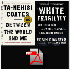 White Fragility + Between the World and Me eBooks