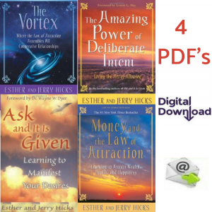 Esther Hicks Law of Attraction Bundle of 4 eBooks